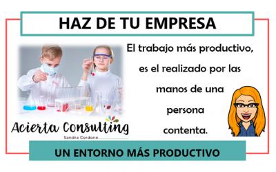 Pautas para hacer de tu empresa un entorno más productivo