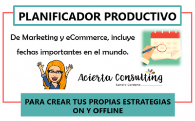 Planificador Productivo 2018 de Marketing y eCommerce by Acierta Consulting
