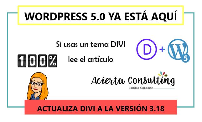 WORDPRESS 5.0 ya está aquí