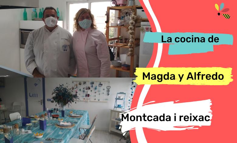 La cocina de Magda y Alfredo