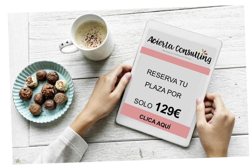 Reserva tu Plaza ahora por solo 129€