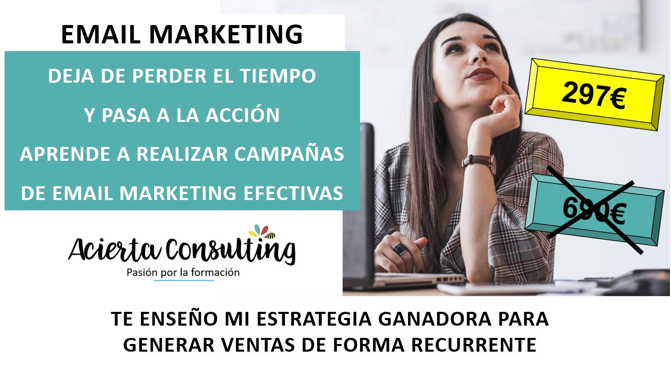 eMail Marketing Curso online_Sandra Cordone Acierta Consulting